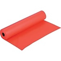 "Pacon® Rainbow Kraft Paper Roll, 36""W x 1000'L, Orange"