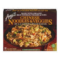 Amy's Chinese Noodles & Veggies in Cashew Cream Sauce Gluten Free Organic