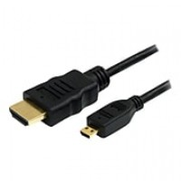 StarTech 6' High Speed HDMI to Micro HDMI Male/Male HDMI Cable With Ethernet