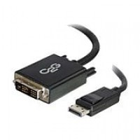 C2G ® 54330 10' DisplayPort to DVI-D Adapter Cable, Black