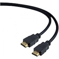 Staples 12' High-Speed HDMI Cable, Black
