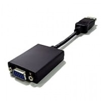 Professional Cable™ DisplayPort to VGA Digital Video Adapter, Black/Blue