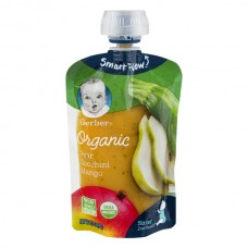 Gerber 2nd Foods Pears, Zucchini & Mangoes Organic