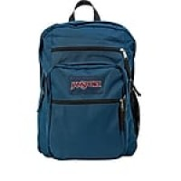 "Jansport Big Student Backpack, 17.5"" x 13"" x 10"", Navy Blue (JS00TDN7003)"