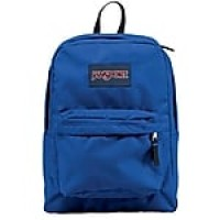"Jansport Superbreak Backpack, 16.7"" x 13"" x 8.5"", Blue Streak (JS00T5015CS)"