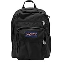 "Jansport Big Student Backpack, 17.5"" x 13"" x 10"", Black (TDN7008JAN)"