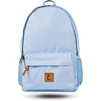 "Staples Sixteen 60 18"" Backpack, Light Blue (52405)"