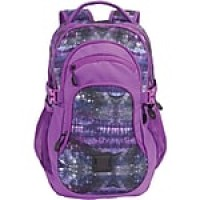 "Staples Pembroke 18"" Backpack, Galaxy Pattern, 6.88""W x 18.11""H x 12.20""D (52424)"