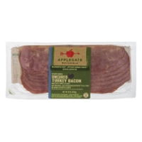 Applegate Naturals Turkey Bacon Uncured Hickory Smoked - 8 ct