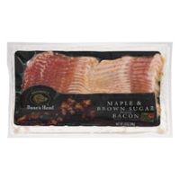 Boar's Head Maple & Brown Sugar Flavored Bacon Naturally Smoked Sliced