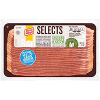 Oscar Mayer Selects Turkey Bacon Uncured Smoked 57% Less Sodium