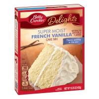 Betty Crocker SuperMoist Cake Mix French Vanilla