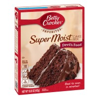 Betty Crocker SuperMoist Cake Mix Devil's Food