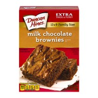 Duncan Hines Brownie Mix Milk Chocolate Family Size