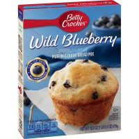 Betty Crocker Muffin & Quick Bread Mix Wild Blueberry