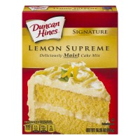 Duncan Hines Signature Cake Mix Lemon Supreme