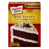 Duncan Hines Signature Cake Mix Red Velvet
