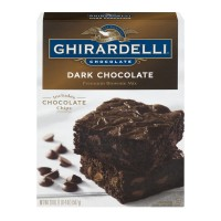Ghirardelli Brownie Mix Dark Chocolate