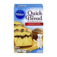 Pillsbury Quick Bread & Muffin Mix, Too! Cinnamon Swirl