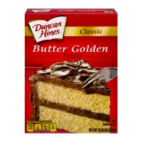 Duncan Hines Classic Cake Mix Butter Golden