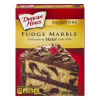 Duncan Hines Signature Cake Mix Fudge Marble