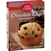 Betty Crocker Muffin & Quick Bread Mix Hershey's Chocolate Chip