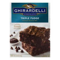 Ghirardelli Brownie Mix Chocolate Triple Fudge