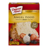 Duncan Hines Signature Cake Mix Angel Food