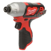 Milwaukee M12 12-Volt Lithium-Ion Cordless 1/4 in. Hex Impact (Tool-Only)