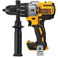 DEWALT 20-Volt MAX XR Lithium-Ion Cordless 1/2 in. Premium Brushless Hammer Drill (Tool-Only)