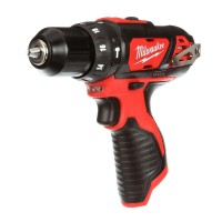 Milwaukee M12 12-Volt Lithium-Ion Cordless 3/8 in. Hammer Drill/Driver (Tool-Only)