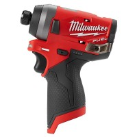 Milwaukee M12 FUEL 12-Volt Lithium-Ion Brushless Cordless 1/4 in. Hex Impact Driver (Tool-Only)