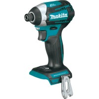 Makita 18-Volt LXT Lithium-Ion Brushless 1/4 in. Cordless Quick-Shift Mode 3-Speed Impact Driver (Tool Only)