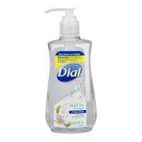 Dial Liquid Hand Soap Antibacterial White Tea & Vitamin E Pump