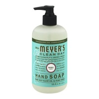 Mrs. Meyer's Clean Day Liquid Hand Soap Basil Scent Pump
