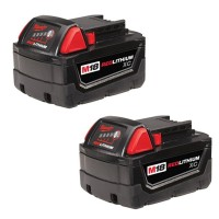 Milwaukee M18 18-Volt Lithium-Ion XC Extended Capacity Battery Pack 3.0Ah (2-Pack)