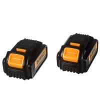 DEWALT 20-Volt MAX Lithium-Ion Premium Battery Pack 3.0Ah (2-Pack)