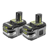 Ryobi 18-Volt ONE+ Lithium-Ion LITHIUM+ HP 6.0 Ah High Capacity Battery (2-Pack)