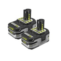 Ryobi 18-Volt ONE+ Lithium-Ion LITHIUM+ HP 3.0 Ah High Capacity Battery (2-Pack)