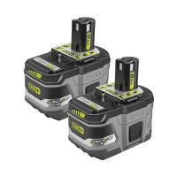 Ryobi 18-Volt ONE+ Lithium-Ion LITHIUM+ HP 9.0 Ah High Capacity Battery (2-Pack)