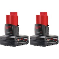 Milwaukee M12 12-Volt Lithium-Ion XC Extended Capacity Battery Pack 3.0Ah (2-Pack)