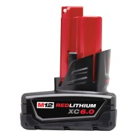 Milwaukee M12 12-Volt Lithium-Ion XC Extended Capacity Battery Pack 6.0Ah