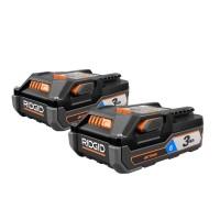 RIDGID 18-Volt OCTANE Bluetooth 3.0 Ah Battery (2-Pack)