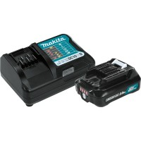 Makita 12-Volt MAX CXT Lithium-Ion Compact Battery Pack 2.0Ah and Charger Starter Kit