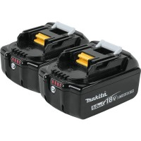 Makita 18-Volt LXT Lithium-Ion High Capacity Battery Pack 5.0Ah with LED Charge Level Indicator (2-Pack)
