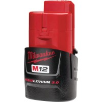 Milwaukee M12 12-Volt Lithium-Ion Compact Battery Pack 3.0Ah