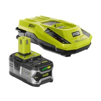 Ryobi 18-Volt ONE+ Lithium-Ion 4.0Ah Starter Kit with Battery and Charger