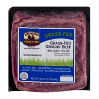 Spring Crossing Cattle Co. Australian Ground Beef 90% Lean Grass-fed Fresh