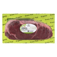Nature's Promise Organic Beef Strip Steak Grass-fed Fresh