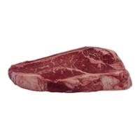 Butcher's Shop Choice New York Strip Steak Bone-In Vacuum Sealed Fresh